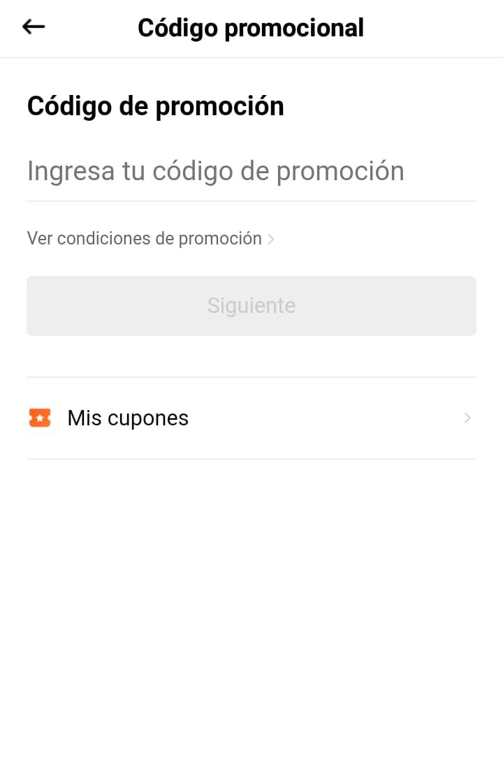 Descuento Código Promocional Didi Colombia