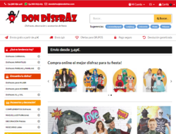 Código Descuento Don Disfraz 2019
