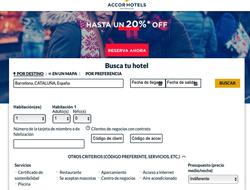 Descuentos y Promociones Accor Hoteles 2019