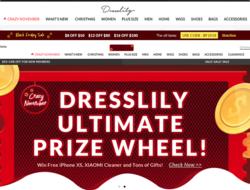 Cupón Promocional y descuentos Dresslily 2019