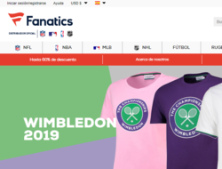 Cupón Descuento Fanatics 2019